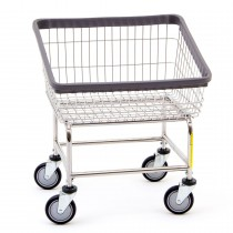 100T Chrome Front Load Laundry Cart