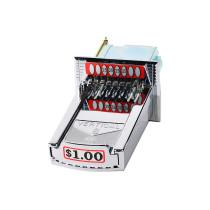 20-00-000-100 Vertical 8 V8 Coin Slide / Coin Chute Vended For $1.00 - Greenwald