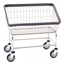200S Chrome Large Capacity Front Load Laundry Cart