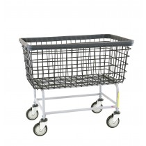 "201H Chrome Mega Capacity ""Big Dog"" Laundry Cart"