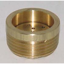 """2203-326 Burner Tip 1"""" Brass"""