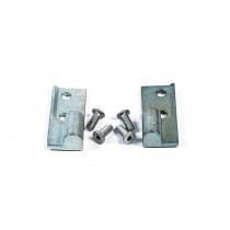 487339002 Kit, Hinge Block (Top & Bot) Alum  ~~