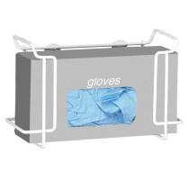 Single Wire Glove Box Dispenser, White (4 pack)