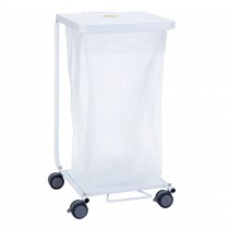 691D Single Medium Duty Hamper w/ Foot Pedal & Damper