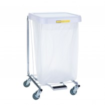 "692/32 Single Medium Duty Hamper w/ Foot Pedal - 32""High"