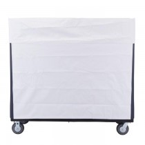 850W White Vinyl Cover for 748 Turnabout Truck
