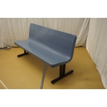 Bench Seating BFD-48-BENCH With Back In Cornflower