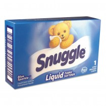 D-S-2979996 Snuggle Liquid Fabric Softener 1 Load Pouch - Case of 100 Units