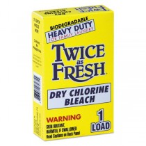 D-V-2979646 Twice As Fresh Dry Chlorine Bleach 1 Load Box - Case of 100 Units