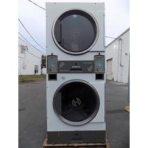 Huebsch Stack Dryer 30LB(x2) Capacity JT0300DRGECW001