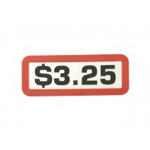 Pack of 12 - $3.25 Price Sticker for Coin Slides