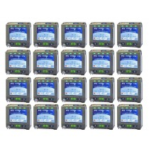 SpyderWash Start-Up Package includes 20 Washer or Dryer Credit Card Kits, 1 Bluetooth or Dryer Credit Card Kits, 1 Bluetooth Ethernet Hub and Web based Software Setup.