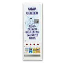4 Column Soap Vender for Vended Soap ELECTRONIC