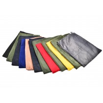 "Dozen - Bag of Assorted Colors Nylon Laundry Bags 33""x40"""