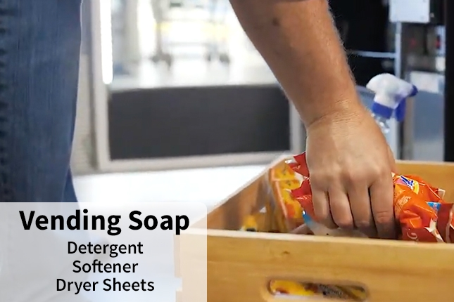 Vending Soap - Detergent, Softener, Dryer Sheets